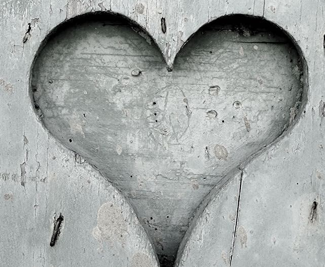 graues Herz